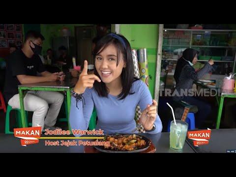 Jodilee Warwick Nyicipi Kuliner di Hotplate Ika Jogja