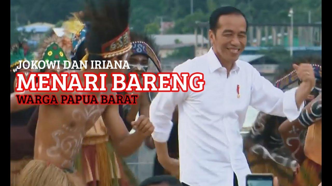 Viral! Presiden Jokowi dan Ibu Iriana Menari Bersama