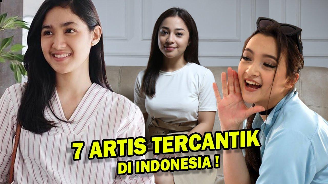 7 Daftar Artis Tercantik Di Indonesia 2020, No 7 Cantiknya Natural Banget