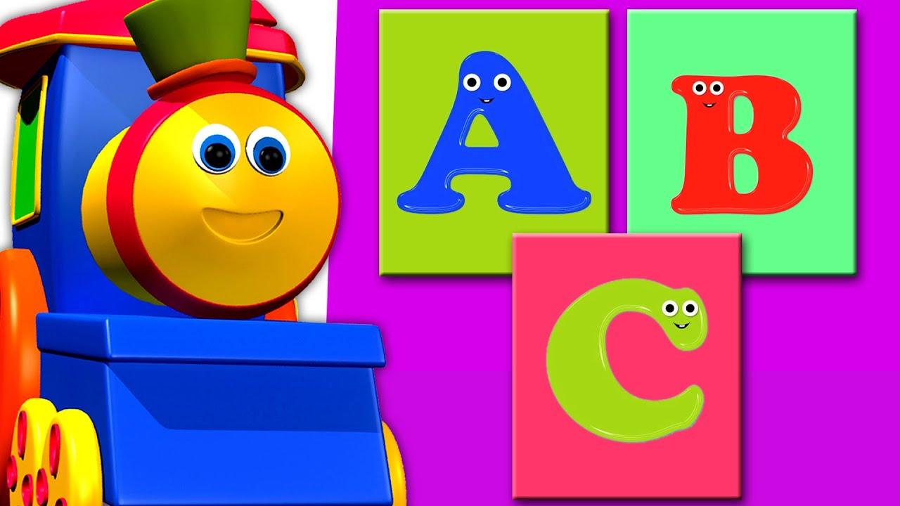 Bob Si Kereta Api Mengenal Huruf (Bob Train Alphabet) Video Pembelajaran & Lagu Anak