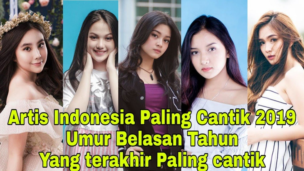 Daftar Artis Muda Cantik Indonesia Umur Belasan Tahun