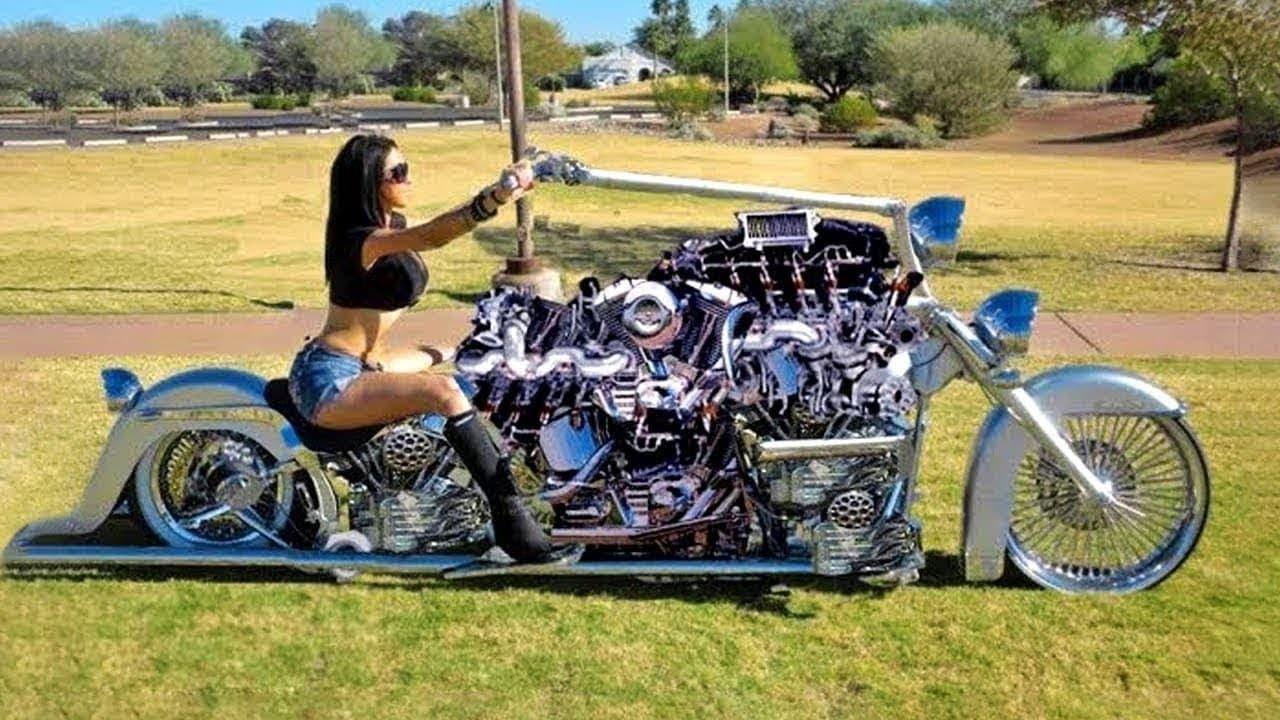 Daftar Sepeda Motor Gede (MoGe) Monster Paling Aneh di Dunia