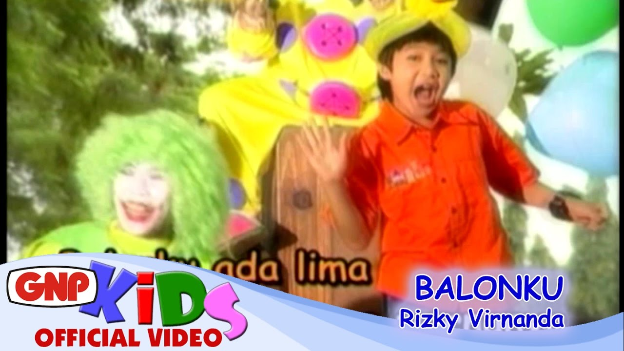 Lagu Anak Balonku Ada Lima (Lagu Anak Indonesia Terpopuler)