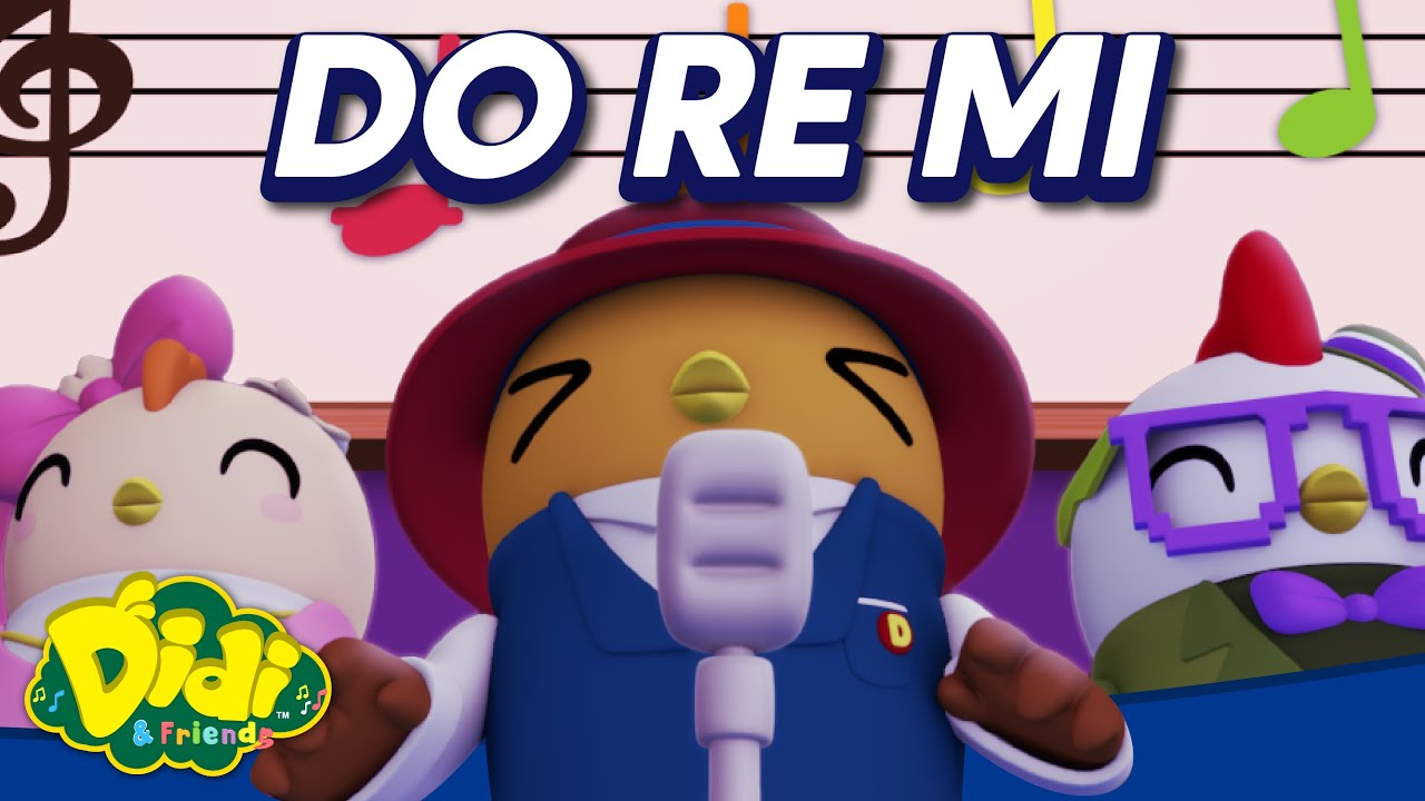Lagu Anak Didi And Friends – Do Re Mi (Bahasa Melayu)