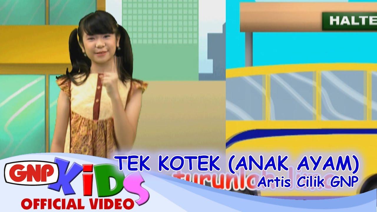 Lagu Anak Tek Kotek (Anak Ayam) – Artis Cilik (Lagu Anak Indonesia Terpopuler)
