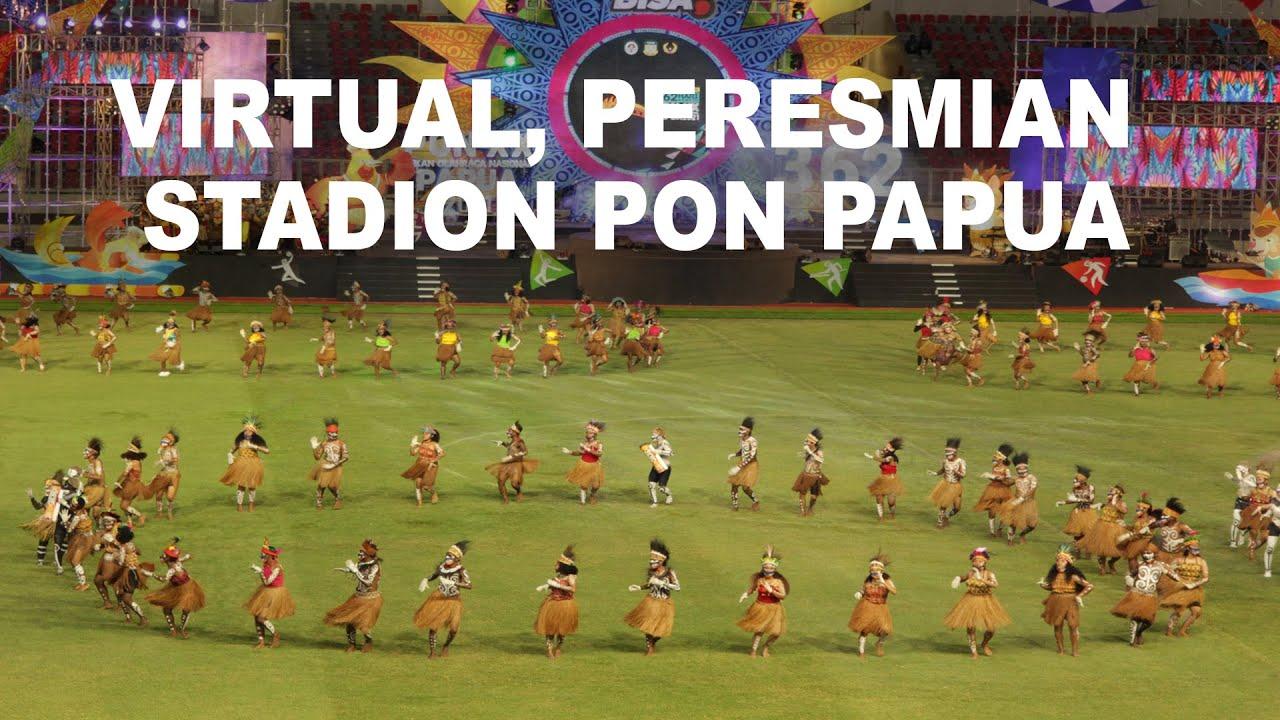 Peresmian Stadion PON Papua Indonesia