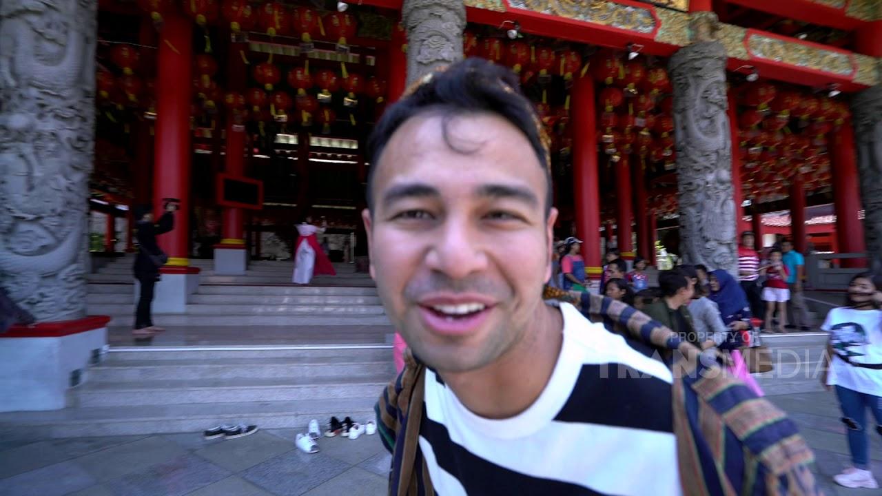 Rafi Ahmad Jadi Tukang Becak di Semarang