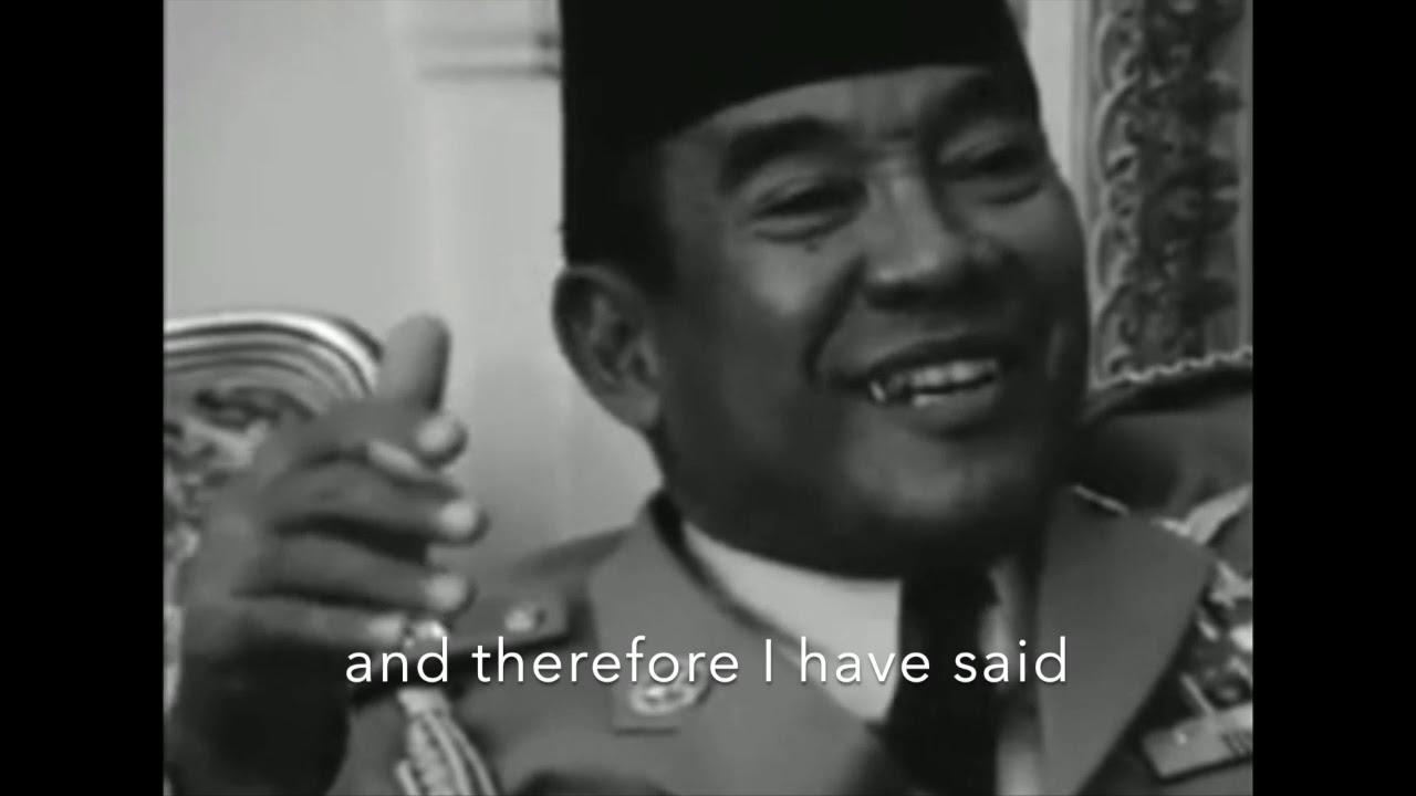 Viral! Presiden Indonesia Pertama Ir. Soekarno 1963