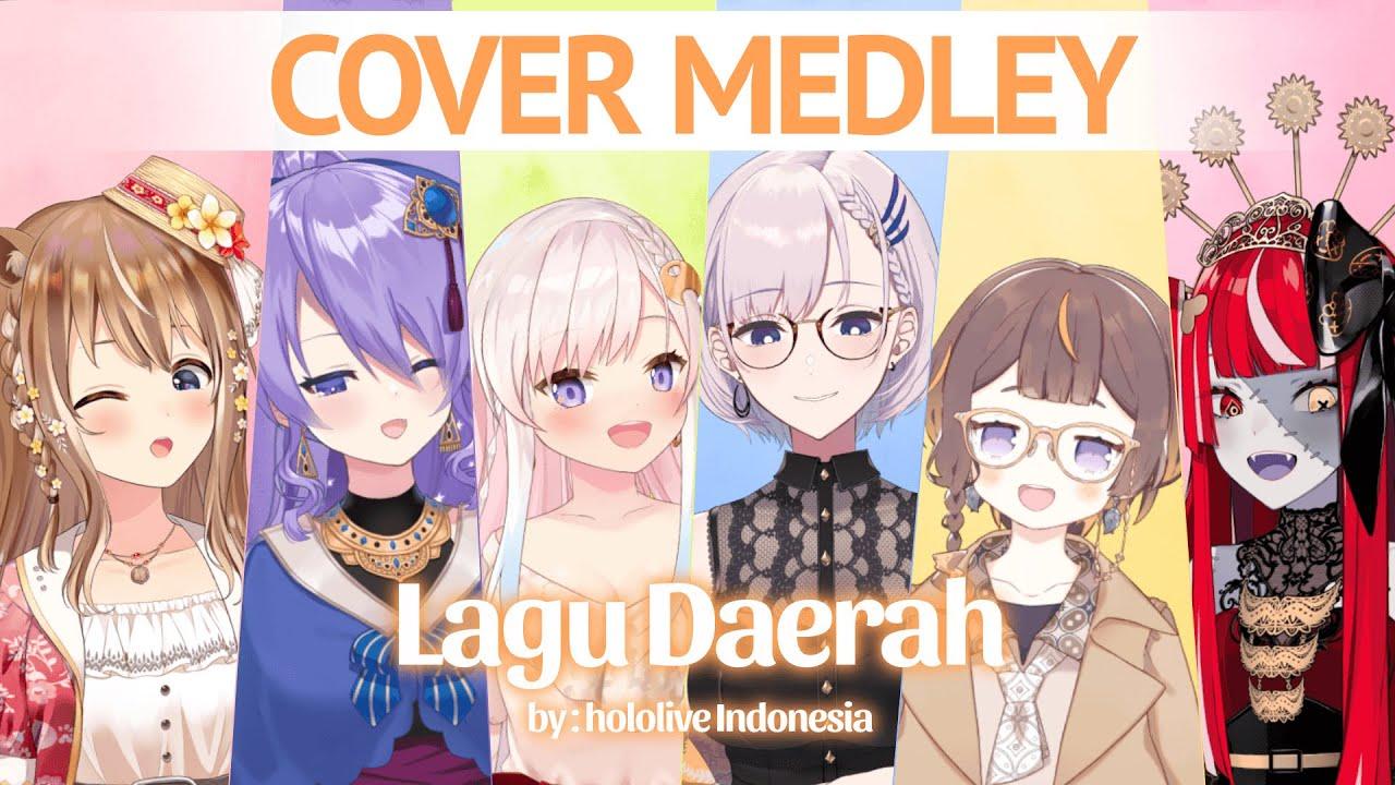 Virtual Medley Lagu Daerah – hololive ID [Cover]