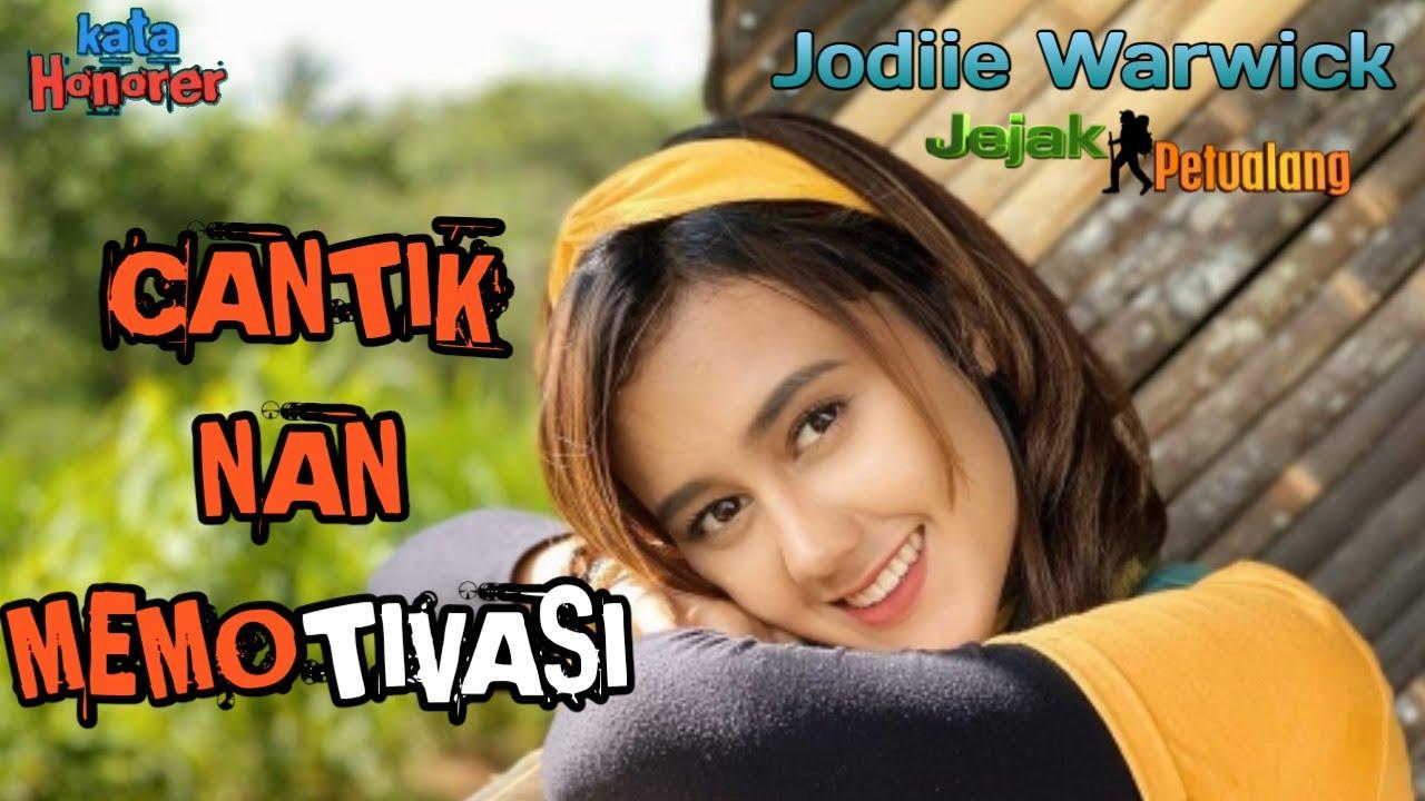Biodata Bule Cantik Jodilee Warwick Presenter Jejak Petualang