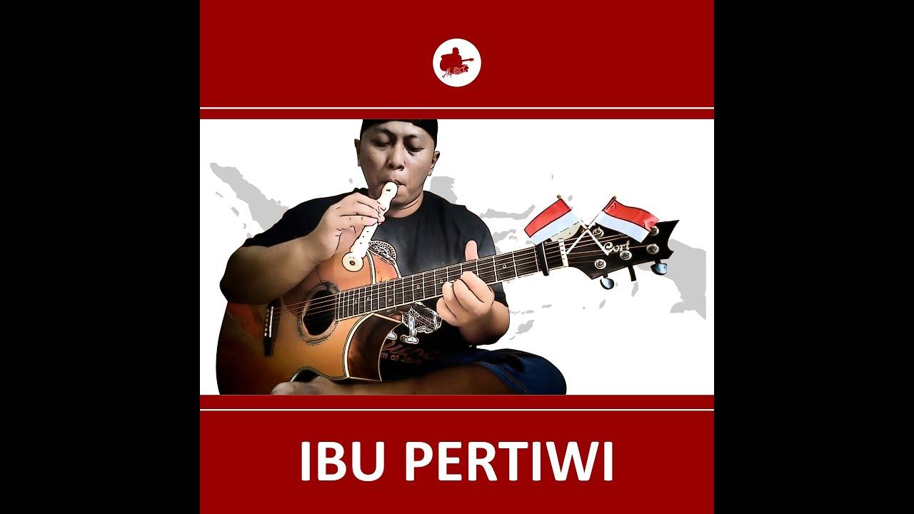 Cover Ibu Pertiwi by Alip Ba Ta Master Fingerstyle Indonesia