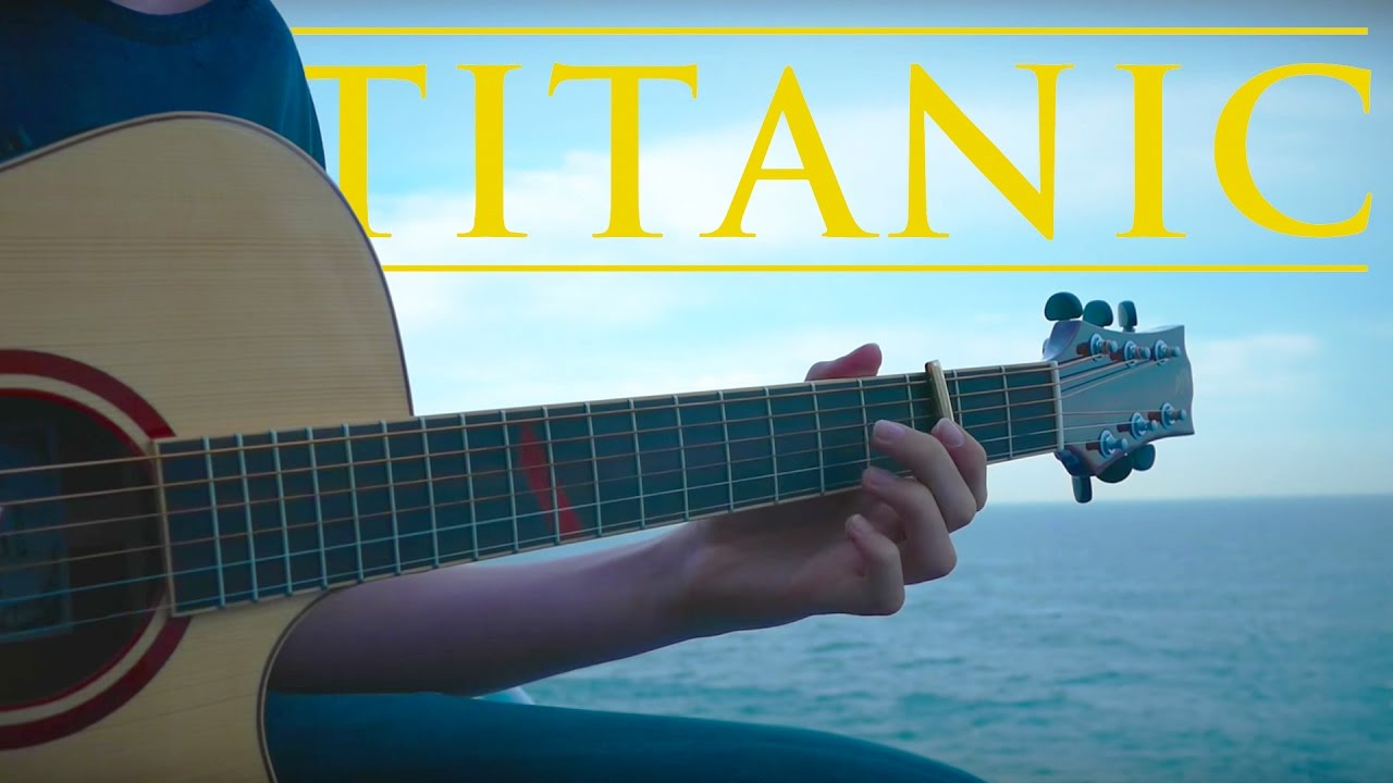 Cover My Heart Will Go On – Ost Titanic by Eddie Van Der Meer Fingerstyle On The World