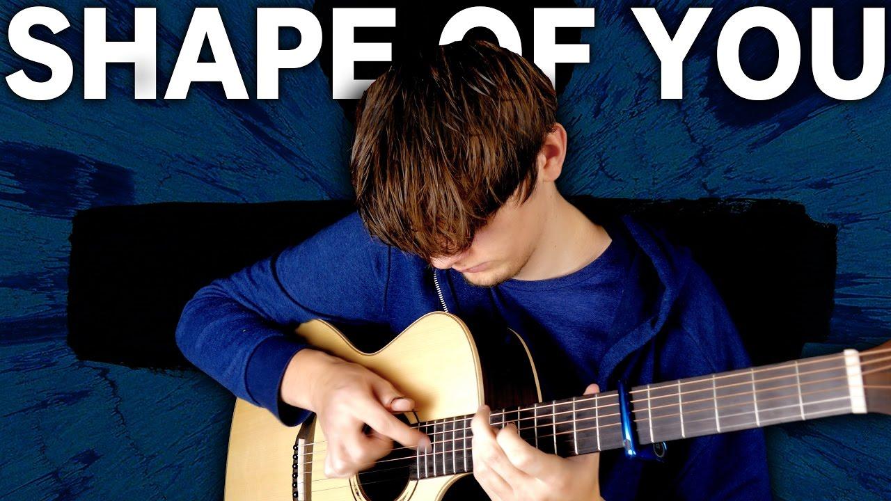 Cover Shape of You – Ed Sheeran by Eddie Van Der Meer Fingerstyle On The World