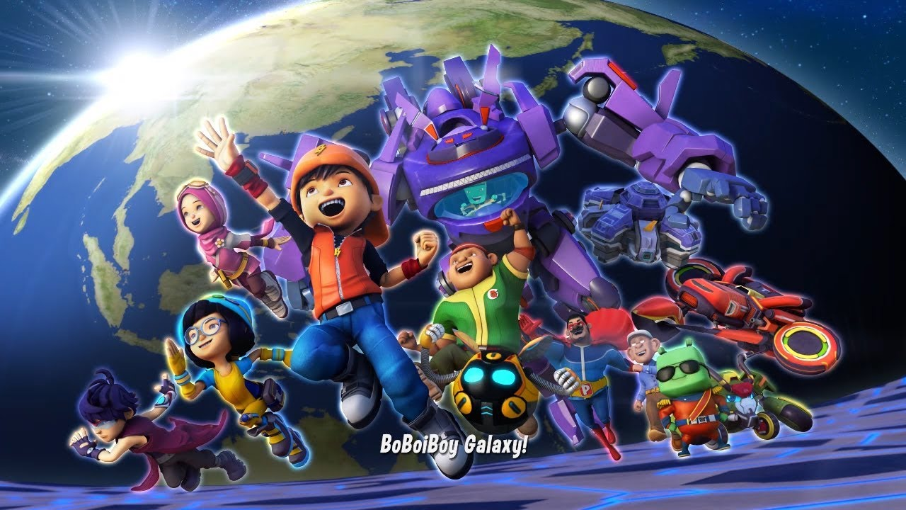 Film Anak-Anak BoBoiBoy Galaxy Season 1 (Full Lengkap)