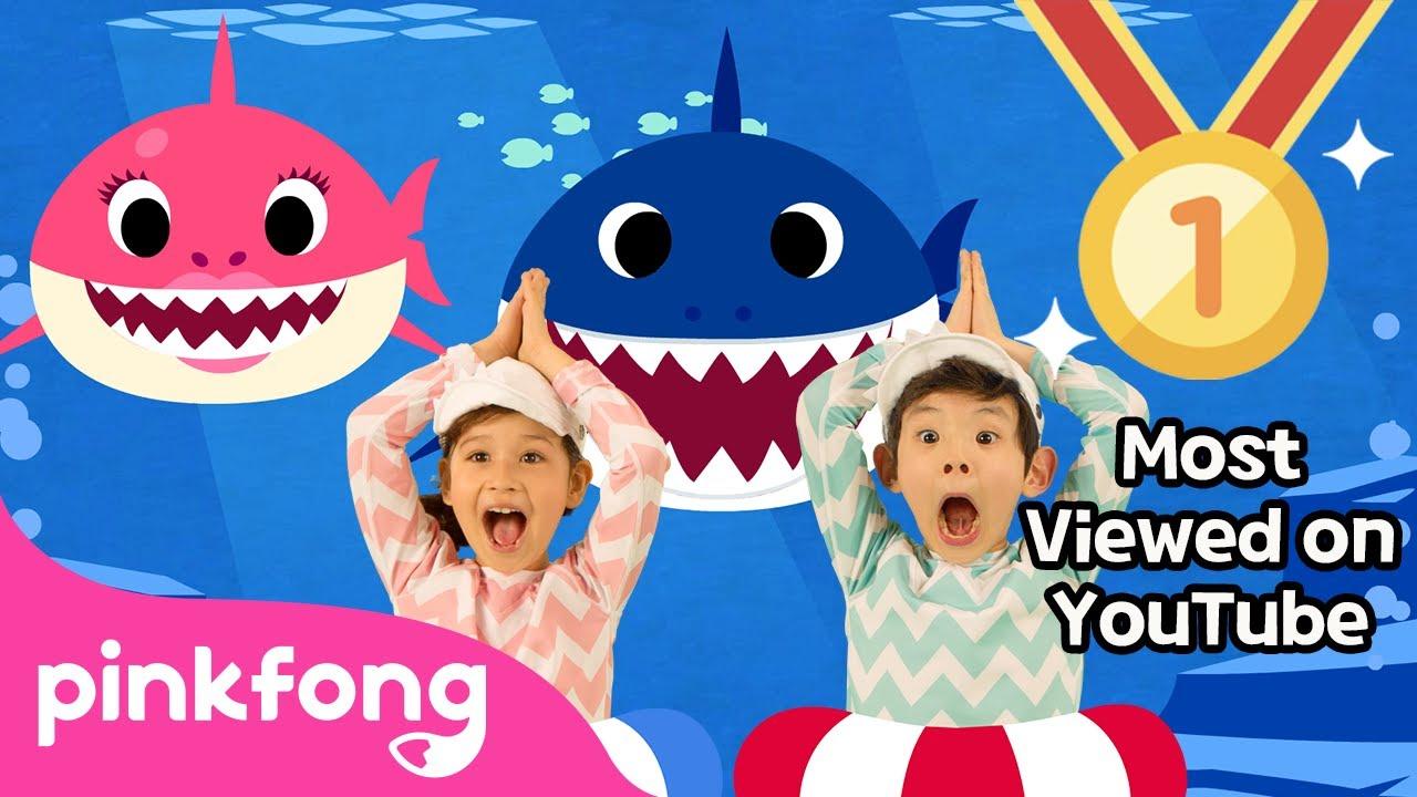 Lagu Anak Baby Shark English (Official Music Video)