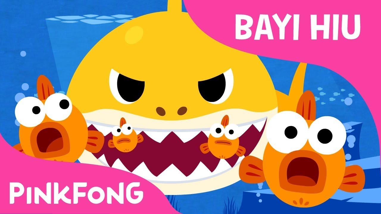 Lagu Anak Baby Shark Indonesia (Official Music Video)