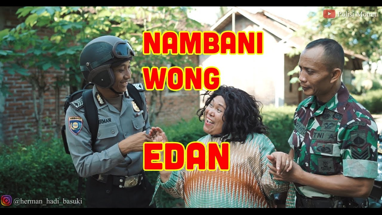 Polisi Motret – Nambani Wong Edan (Film Lucu Purworejo Jawa Tengah)