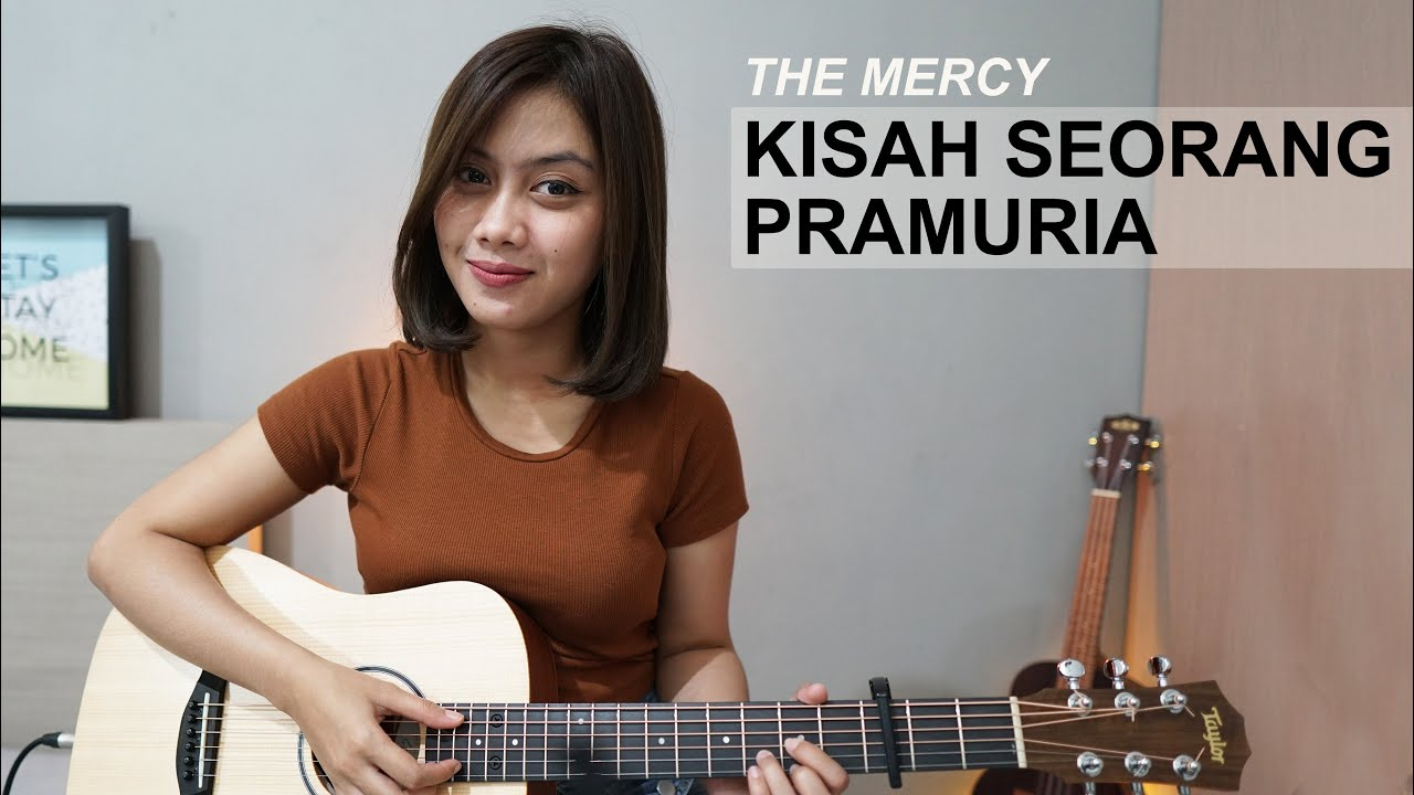 Sasa Tasia Cover Lagu Kisah Seorang Pramuria -The Mercy (Official Music Video)