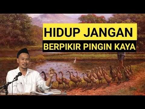Gus Baha – Hidup Jangan Ingin Kaya (Dakwah Islam Indonesia Youtube)
