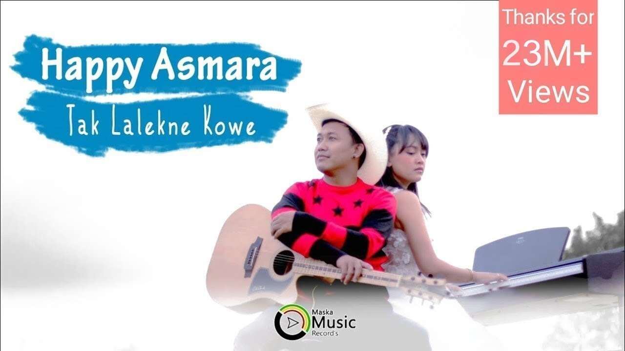 Happy Asmara – Tak Lalekne Kowe (Official Music Video Youtube)