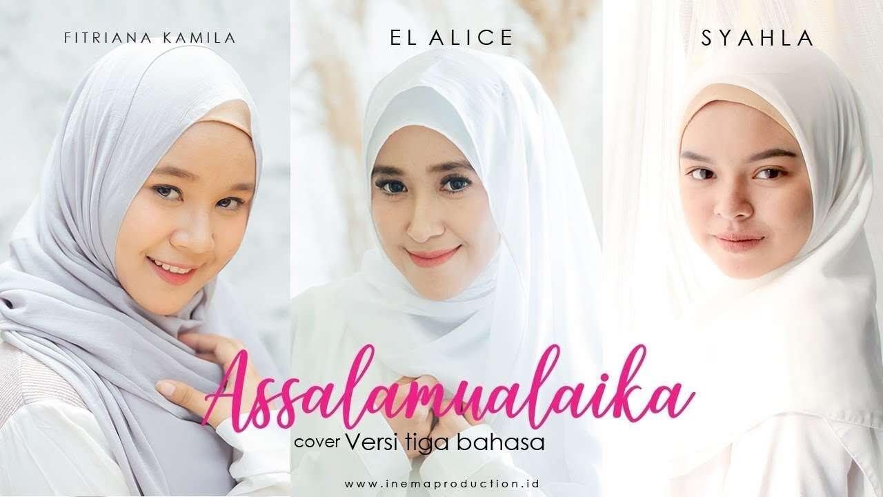Inema – Assalamualaika 3 Bahasa (Official Music Video Youtube)