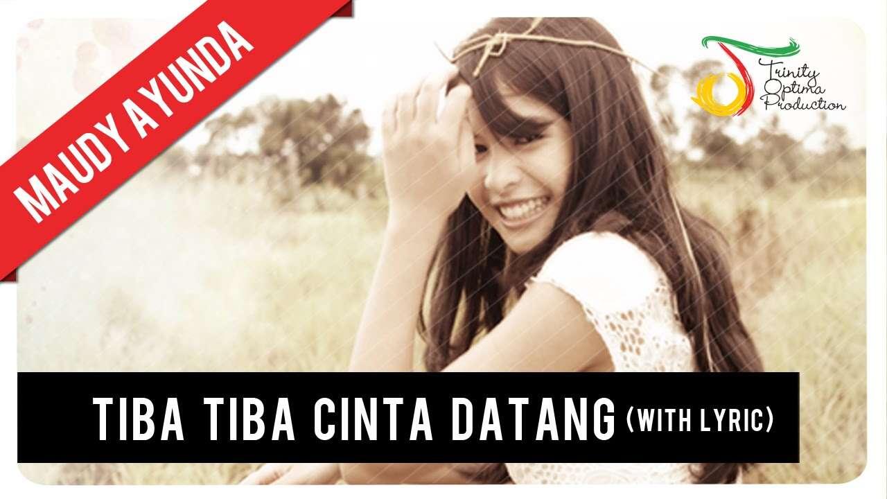 Maudy Ayunda – Tiba Tiba Cinta Datang (Official Music Video Youtube)