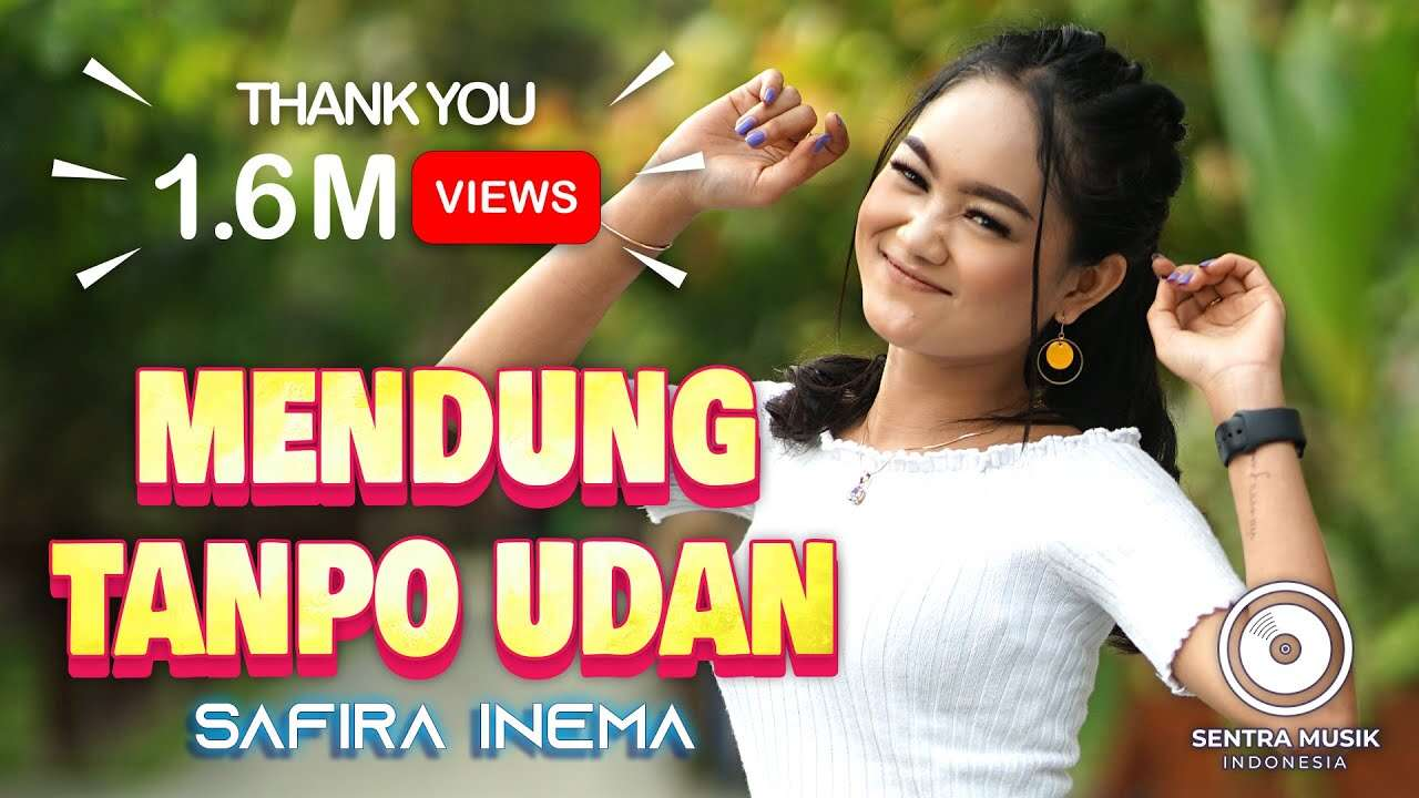 Safira Inema – Mendung Tanpo Udan (Official Music Video Youtube)